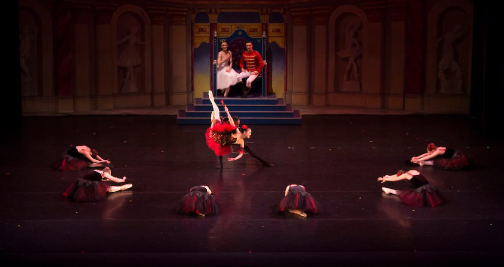 Dancers performing The Nutcracker